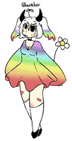 Gay flower demon by awhes