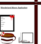 Wonderland Manor App by TanakaHaru