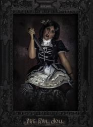 Horrorama - The Evil Doll by Demonrat