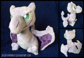 Aerodactyl Plush by SplatterParrot