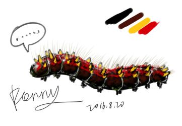 Caterpillar by Renny1998