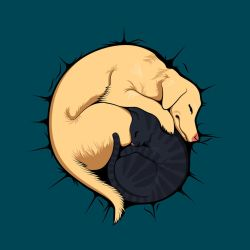Buddy Nap Time on Threadless by pica-ae