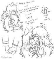 BUMBLEBY vol 4 sketches by pockynuko12000