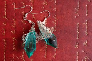 Magic Crystal Earrings by BlueMarinesFactory