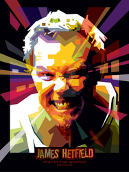 JAMES HETFIELD - WPAP BY TONI by toniagustian