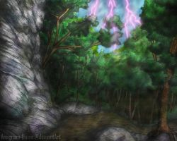 Forest Illustration 2 by Anagram-Daine