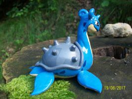 Lapras_Pokemon_ my_hand_made_clay by Maciek1602