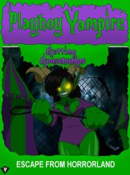 Getting Goosebumps - Escape from Horrorland by PlayboyVampire
