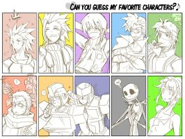 guess my favorite character by BumblebeeSam