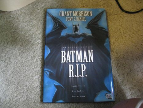 Batman RIP Comic Book by moulinrougegirl77