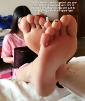 Foot Massage For Giantess Best Friend by youranus32