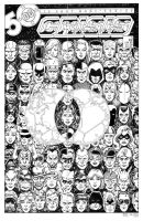 Crisis on Infinite Earths 5 Cover Recreation by dalgoda7