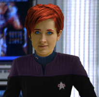 Lilith Saugn, DS9 uniform by Ryjuda