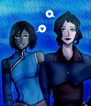 Korrasami PRIDE by doodlemeimpressed