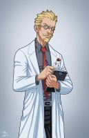 Dr. Byron Meredith (Earth-27) commission by phil-cho