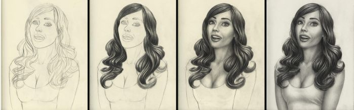 Happy girl process by cretaceo