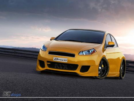 Fiat Bravo Tuning by DCdeco