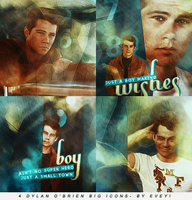 Dylan O'Brien big icons by Evey-V