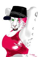 80's Party Leopard by marcony