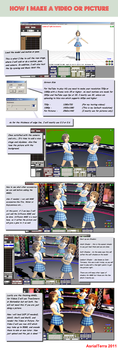 How I make a video or picture. by AsrialTerra