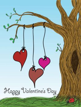 Hearts a Hanging by Shellbug