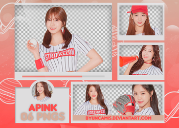 [PNG PACK #491] APink - Strikezone by fairyixing
