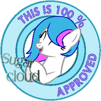 100% approved by Sugar cloud commission by TwitterShy
