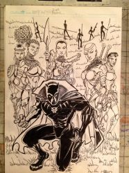 Black Panther: King of Wakanda by POWERSMITH2