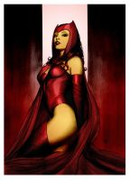 Scarlett Witch by Adi Granov by DrDoom1081