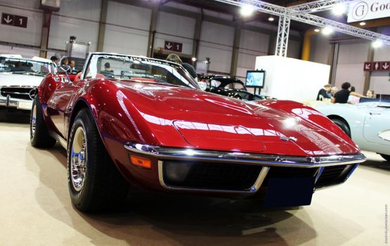 1968 C3 GM Corvette coupe by Dredmix