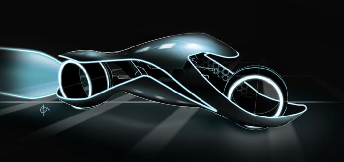 Light Cycle Competition by Majeq