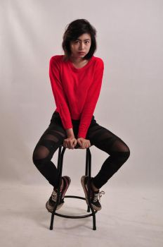 red girl by s05crew