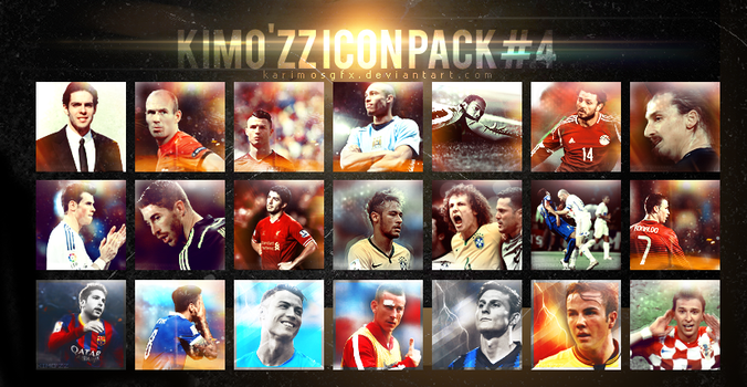 KIMOZZ Icon Pack 4 by KARIMOSGFX