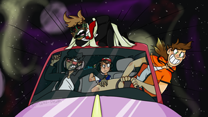 ROAD TRIP THROUGH THE VOID by Lii0nz