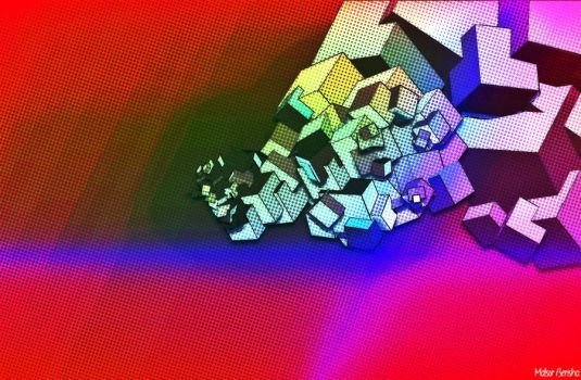 Cube Experiment by coli666