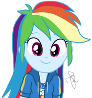 EQG Series - Cute Rainbow Dash by ilaria122