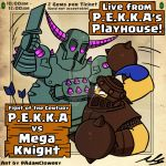P.E.K.K.A vs Mega Knight by Adam-Clowery
