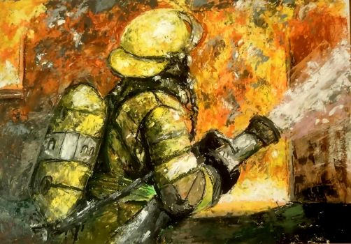 firefighter by Ghhrrr