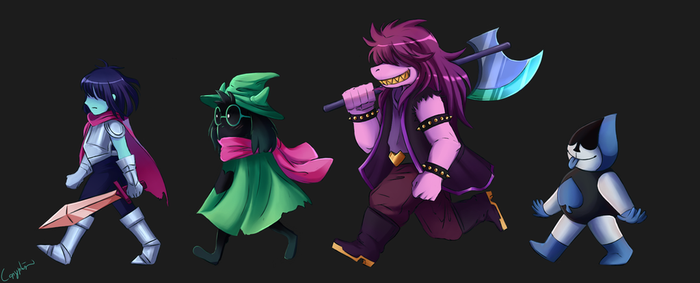 DR: The $!$? Squad by Copyplier