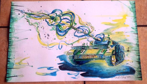 Tank of Life Commission by Platyadmirer