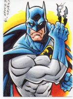 Batman sketch card by CharlesEttinger