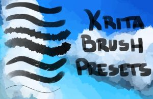 Krita Custom Brushes by Stalcry