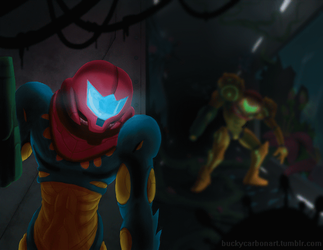 Metroid: Fusion - Animated GIF - by InAmberClad