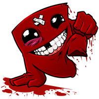 Super Meat Boy to the rescue! by Az-Pekt