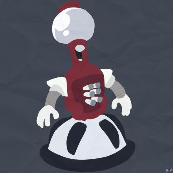 Tom Servo (Simplistic) by Geoffery10