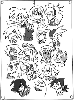HB Expressions -inked- by The-Knick