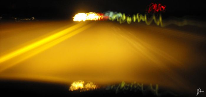 Lights on the Road - 2 by HeroOnatomay
