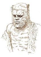 Oliver Reed - The Curse of the Werewolf by Jerantino