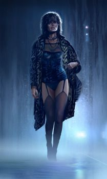 Pris alone - Blade Runner by Harnois75