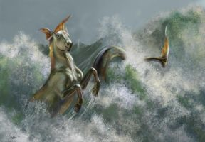 Hippocampus by Hagge
